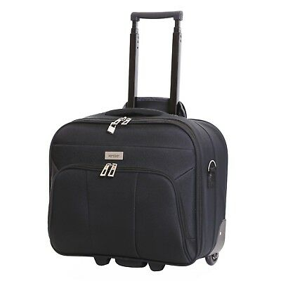 Wheeled Laptop Computer Business Travel Trolley Suitcase Luggage Case Bag
