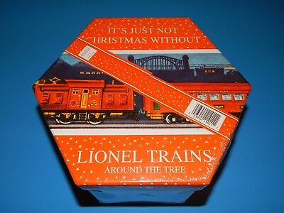 New Keepsake Gift Box 14 Collectible Lionel Train Ornaments Classic Christmas