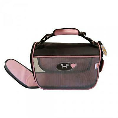 Sac de Transport Mini Doggy Bag Rose ( Catégorie : Sac de transport chat ) • EUR 59,80