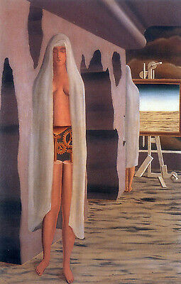 Oil painting surrealism art - The Age of Marvels free shipping for all buyers @@