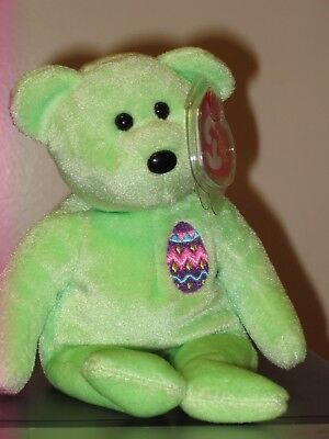 Ty Beanie Baby ~ EGGS 2007 the Easter Bear ~ MINT with MINT TAGS ~ RETIRED