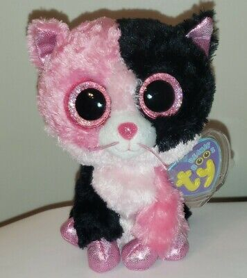 """Ty Beanie Boos ~ DAZZLE the 6"""" Cat ~ 2013 Exclusive ~MINT WITH MINT TAGS"""