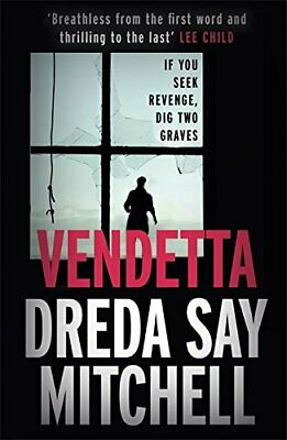 Vendetta by Say Mitchell, Dreda Book The Cheap Fast Free Post