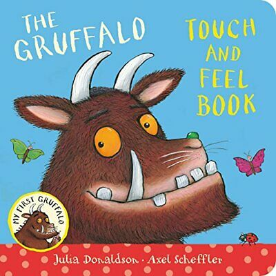 My First Gruffalo: Touch-and-Feel, Donaldson, Julia Book The Cheap Fast Free