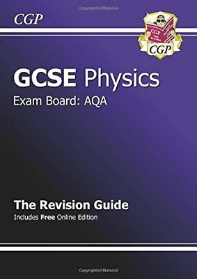 GCSE Physics AQA Revision Guide (with online edition) ... by CGP Books Paperback
