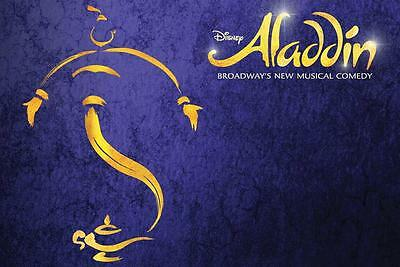 ALADDIN Ticket and 2 Course Meal THEATRE PACKAGE with a TOP PRICED SEAT