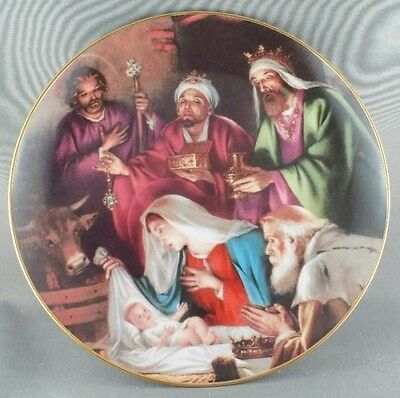 """""""Gifts To Jesus"""" Promise of a Savior Collector Plate"""