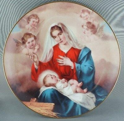 """The Heavenly King"" Promise of a Savior Collector Plate"