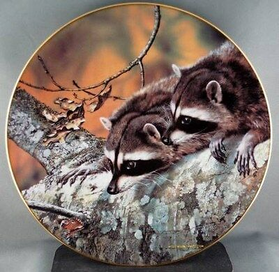 Carl Brenders Fascination Woodland Friends Collector Plate