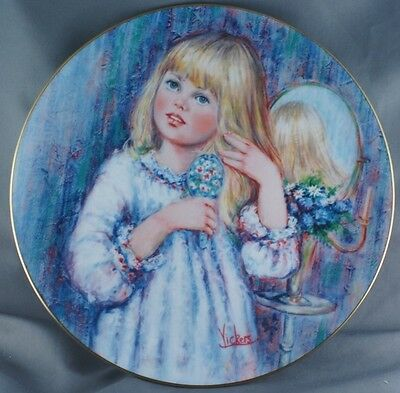 Mary Vickers Daydream Blossoming Suzanne Collector Plate