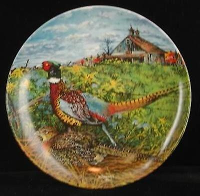 Wayne Anderson The Pheasant Collector Plate