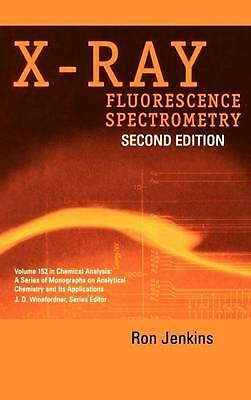 X-Ray Fluorescence Spectrometry by Winefordner (English) Hardcover Book Free Shi