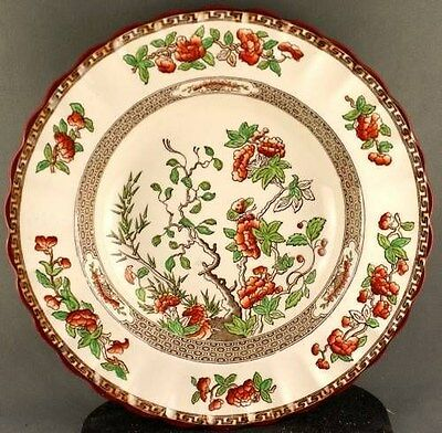 Copeland Spode India Tree Rimmed Soup Bowl (two available)