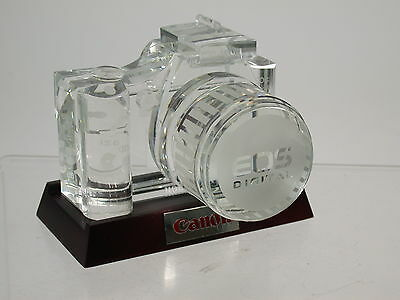 CANON glass model Glas-Modell EOS 300D 1,1kg original and rarest PRÜFERT  /14