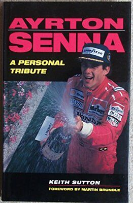 AYRTON SENNA: A TRIBUTE Book The Cheap Fast Free Post