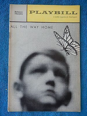 All The Way Home - Belasco Theatre Playbill - August 7th, 1961 - Arthur Hill