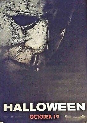 HALLOWEEN 2018 Original DS 2 Sided 4x6' US Bus Shelter Poster Jamie Lee Curtis