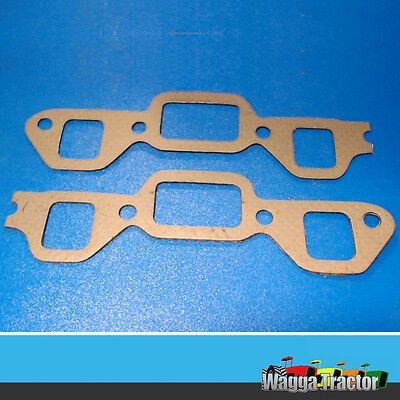 MGK3505 Manifold Gasket Fordson New-Major Diesel Tractor with bolt holes in-line
