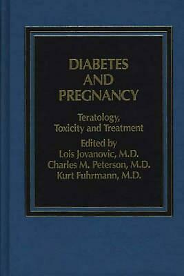 NEW Diabetes and Pregnancy by Jovanovic Hardcover Book (English) Free Shipping