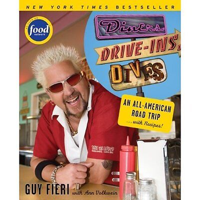 Diners, Drive-Ins and Dives: An All-American Road Trip. - Paperback NEW Fieri, G