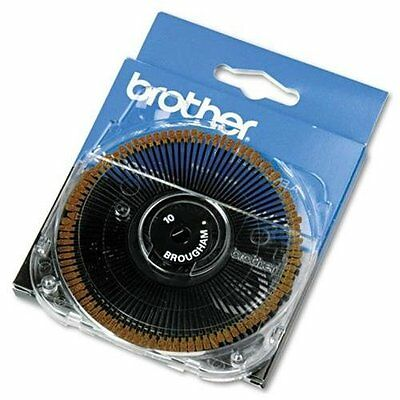 Brother Int'l 411 Brougham 10 Pitch All Daisy Wheel Typewriters & Word Proc