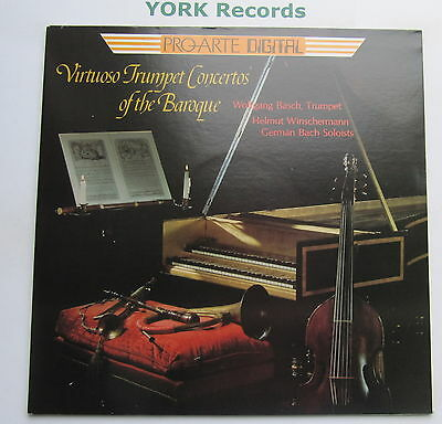 PAD-100 - VIRTUOSO TRUMPET CONCERTOS OF THE BAROQUE - BASCH - Ex Con LP Record