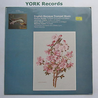 OLS 160 - ENGLISH BAROQUE TRUMPET MUSIC - MAURICE ANDRE - Ex Con LP Record
