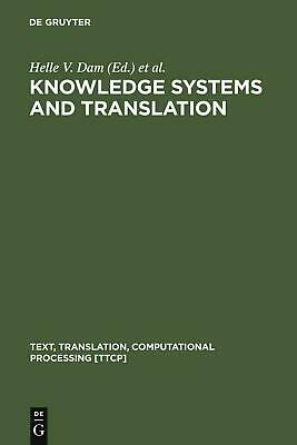 NEW Knowledge Systems and Translation by Hardcover Book (English) Free Shipping