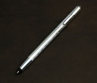 Franklin-Christoph Model 58 Teres Sterling Silver Ballpoint w/ media touch tip
