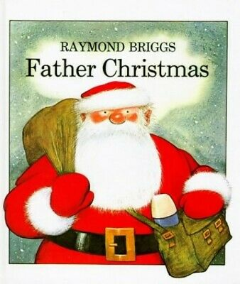 Father Christmas by Briggs, Raymond Hardback Book The Cheap Fast Free Post