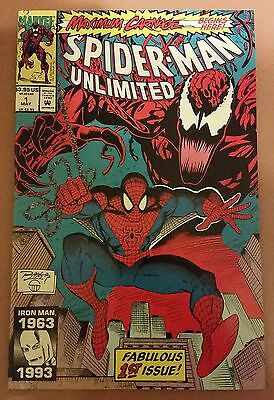 Spider-Man Unlimited #1 Vf/nm Maximum Carnage