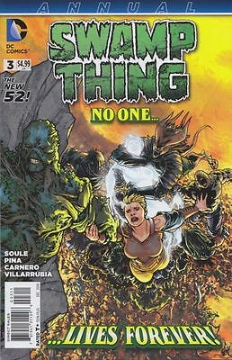 Swamp Thing Annual #3 New 52 Vf/nm