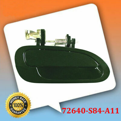 DS475 Outer Outside Door Handle 98-02 For Honda Accord Rear Set Dark Green G87P