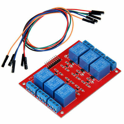 6-Channel 5V Relay Module Breakout Self-Lock Relay new for Arduino with cable