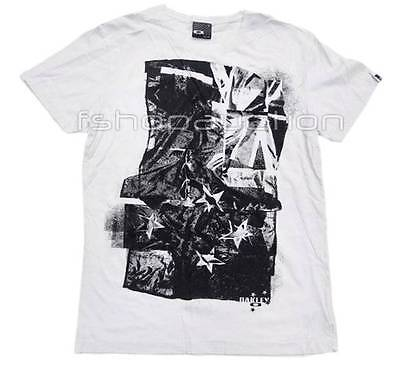 Oakley Flag NZ Tee White Size S Mens Small New Zealand Surf Logo Tshirt T-SHIRT