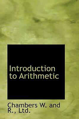 Introduction to Arithmetic by R.W. Chambers (English) Hardcover Book Free Shippi