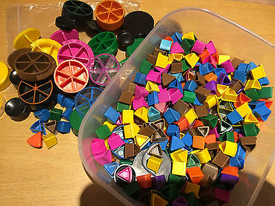 Trivial Pursuit STANDARD Clear Spares Spare Extra Moving Piece Cheese Wedges