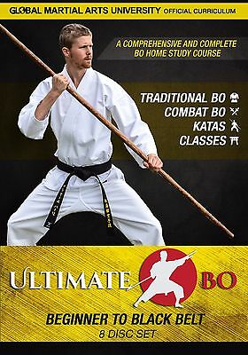Ultimate Bo – Beginner to Black Belt Bo Staff Course - 8 DVD Value Set