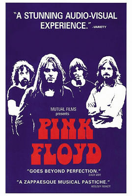 Pink Floyd Live at Pompeii cult movie poster print #2