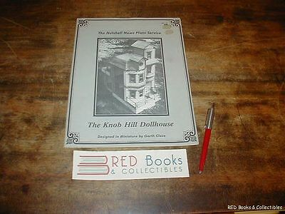 The Knob Hill Dollhouse by Garth Close Illustrated 1981 FREE US SHIPPING