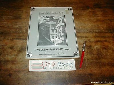 The Knob Hill Dollhouse by Garth Close Paperback Illustrated 1981 FREE US SHIP