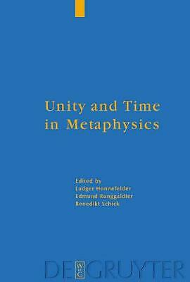 NEW Unity and Time in Metaphysics by Hardcover Book (English) Free Shipping