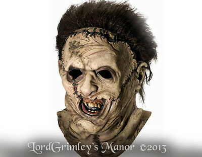 Licensed Leatherface Halloween Mask Horror Ed Gein Texas Chainsaw Massacre