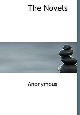 Novels by Anonymous (English) Hardcover Book Free Shipping!