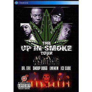 The Up In Smoke Tour - Various Artists (Dre, Eminem, Snoop, Ice Cube) (NEW DVD)