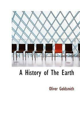 History of The Earth by Oliver Goldsmith (English) Hardcover Book Free Shipping!