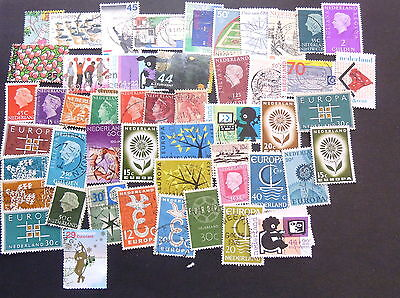 NETHERLANDS x 50 ASSORTED STAMPS SELECTION 1 EXCELLENT COLLECTION
