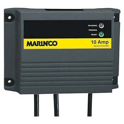 Marinco 28210 10 Amp Dual Output On-Board Battery Charger