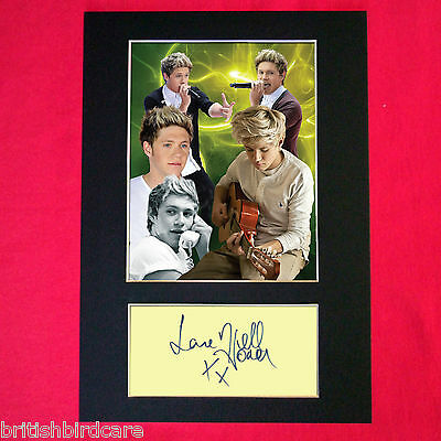 NIALL HORAN No3 Signed Autograph Mounted Photo REPRODUCTION PRINT A4 398