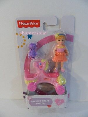 Fisher Price Loving Family Dollhouse Toddler Figure NEW with Accessories